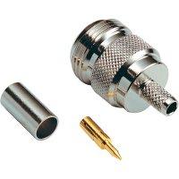 Konektor Reverse N BKL 419504, 50 Ω, zásuvka rovná