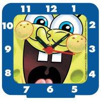 Dětský budík Sponge Bob III, modrá