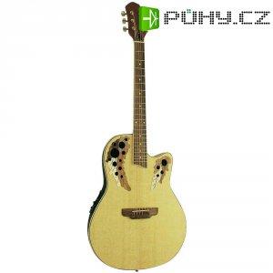 Elektronická westernová kytara MSA Musikinstrumente OV-500, 4/4, přírodní