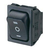 Kolébkový spínač s aretací/0/s aretací SCI R13-87D-02, 250 V/AC, 10 A