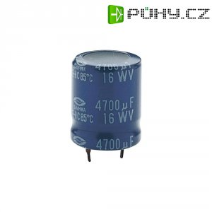 Kondenzátor elektrolytický 2200 uF/16V