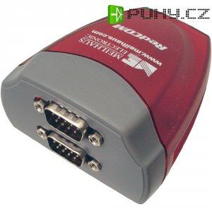 Adaptér Meilhaus Electronic USB 1.1 sériový/VGA, 9-pinový, červený