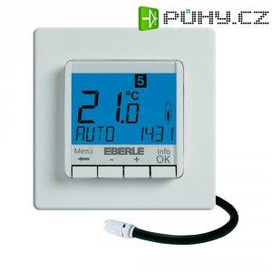 Programovatelný termostat s LCD Eberle FIT-3L, 5 až 30 °C, bílá