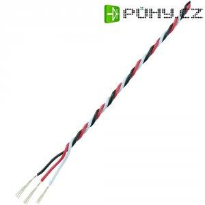 Servo kabel kroucený Modelcraft, 5 m, 3 x 0.08 mm², červená/černá/bílá