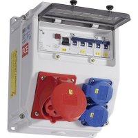 Plastový rozbočovač s jističem Lofer PCE, 9018311, 400 V, 32 A, IP54