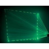 Laserové efekty DMX AL 08 Profi zelený