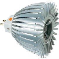 LED žárovka GU5.3, 4 W, teplá bílá, 8°