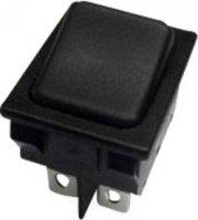 Kolébkový spínač s aretací/0/s aretací SCI R13-117D-01, 250 V/AC, 10 A