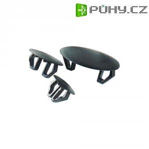 Univerzální záslepka PB Fastener P-2082, 15 - 17,5 mm, černá
