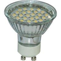 LED žárovka, GU10, 1,2 W, 230 V, 56,5 mm, teplá bílá