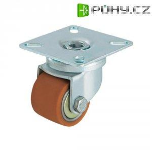 Otočné kolečko s konstrukční deskou, Ø 50 mm, Blickle 754816, LKPA-VSTH 50K