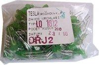 LED 2,5x5mm zelená difuzní LQ1812, balení 200ks