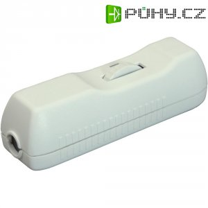 Šňůrový stmívač interBär série 8015, max. 160 W, bílá