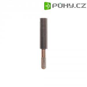 Adaptér 4/4 mm MultiContact 24.0163-21, TPE, rovný, černá