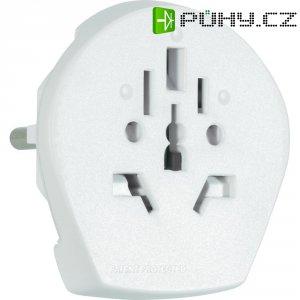 Cestovní adaptér Skross World to Europe 1.500211, CZ zástrčka, bílá