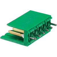 Konektor TE Connectivity 280609-2, zástrčka rovná, 3,96 mm, zelený
