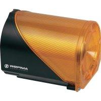 Siréna s blikajícím světlem Werma 444.300.68, IP65, 230 V/AC, žlutá