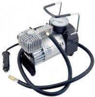 Kompresor 12V kovový+3x nástavec,max10Bar,35l/min