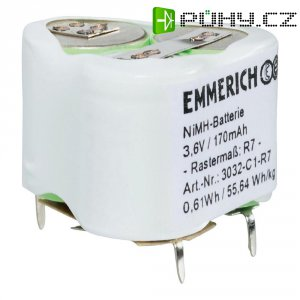 Speciální NiMH akupack Emmerich R7 3,6 V, SLF