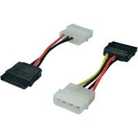 Propojovací kabel USB 2.0 ⇒ sata, IDE, 0,5 m, Digitus