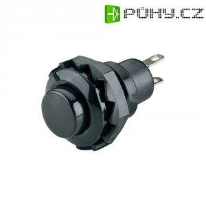 Tlačítko SCI, R13-502A-05BK, 250 V/AC, 1,5 A, vyp./(zap.), černá