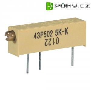 Vřetenový trimr 15cestný lineární 0.75 W 50 kOhm 5400 ° Vishay 0122 1 W 50K 1 ks