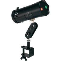 Laserový efekt Renkforce GLP-UL001, 100-240 V, 50/60 Hz, červená/zelená