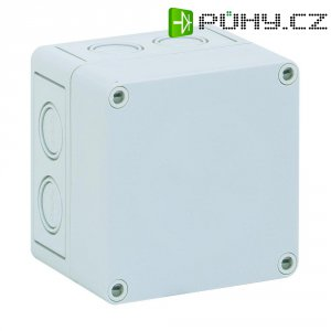 Svorkovnicová skříň polystyrolová EPS Spelsberg PS 1111-9-m, (d x š x v) 110 x 110 x 90 mm, šedá (PS 1111-9-m)