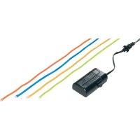Světelné kabely s RC spínačem, 60 cm, oranžová