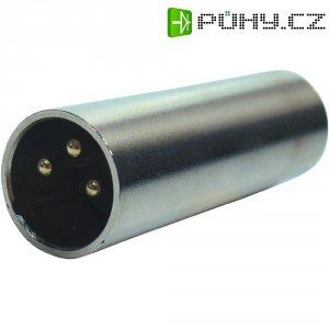 Adaptér Paccs HFA0283 [1x XLR zástrčka - 1x XLR zástrčka], stříbrná