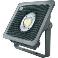Venkovní LED reflektor Sygonix 33076R, 80 W, stříbrná/šedá