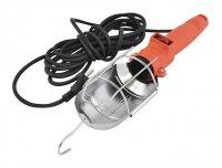 Lampa montážní 60W, 230V, kabel 5m