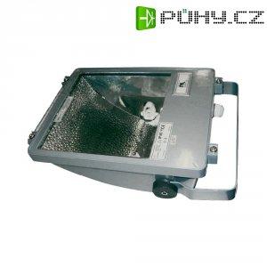 Venkovní reflektor z litého hliníku SLV SXL 150, Rx7s, 150 W, IP65, stříbrná/šedá