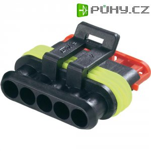 Pouzdro konektoru IP67 TE Connectivity 282080-1, 24 V, 14 A