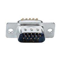 D-SUB kolíková lišta Assmann A -HDS 15 LL/Z, 15 pin