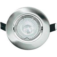 Vestavné svítidlo Basetech Standard CT-3107, GU10, 35 W, chrom/kov