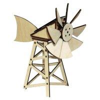 Solární větrný mlýn (americký)