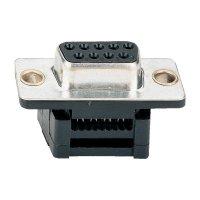 D-SUB zásuvková lišta pro plochý kabel Assmann A-DFF 37LPIII/Z, 37 pin, 180 °