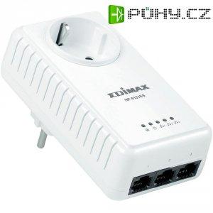 Adaptér Edimax 500Mbps s ethernetem Powerline, 3-portový switch