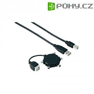 Mini USB hvězdicový adaptér Hama 74218