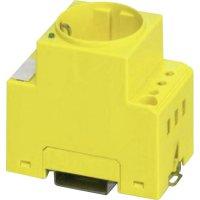 Zásuvka na DIN lištu Phoenix Contact SD-D/SC/LA/YE, 2963459, žlutá