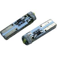 Žárovka Eufab SMD-LED T5, 1 W, modrá, 2 ks