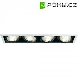 Halogenové vestavné světlo Savona 34647X, 4x 70 W, černá/stříbrná