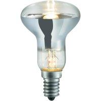 Halogenová žárovka Sygonix, E14, 42 W, 85 mm, stmívatelná, teplá bílá