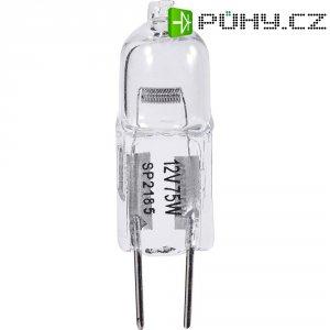 Halogenová žárovka, 12 V, 75 W , G6.35, Ø 11,5 mm