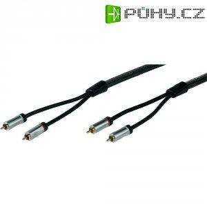 Připojovací kabel Sound & Image, cinch zástr./cinch zástr., 1 m