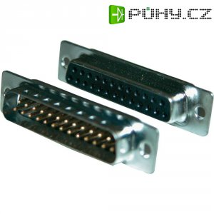 D-SUB kolíková lišta Amphenol 717SD B25P, 25 pin