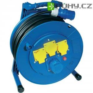 Kabelový buben Jumbo 266.652.2401-CO, CEE-Cara + 3 schuko zásuvky, 40 m