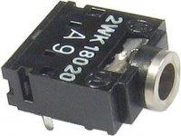 JACK zdířka 3,5 stereo do plošného spoje 2WK18020