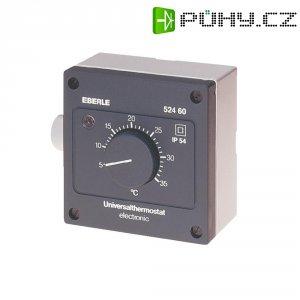 Univerzální termostat Eberle AZT-A524 510, 5 až 35 °C, šedá